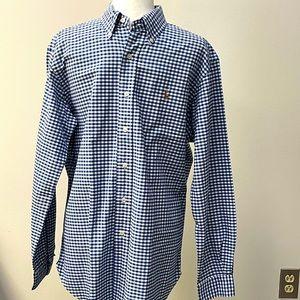 Ralph Lauren Blue Check Shirt